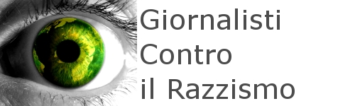 "Logo campagna ""Giornalisti contro il razzismo"""